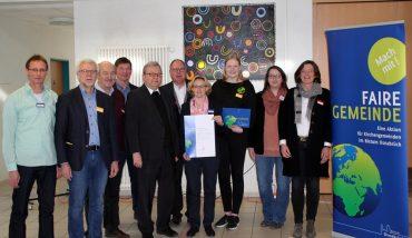 Verleihung zur 100. Fairen Gemeinde: St. Benedikt Lengerich (Emsland)