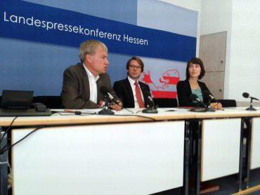 Landespressekonferenz zum Vergabegesetz