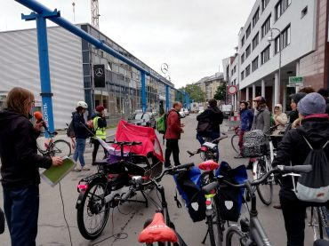 Erste entwicklungspolitische Fahrradtour Berlins